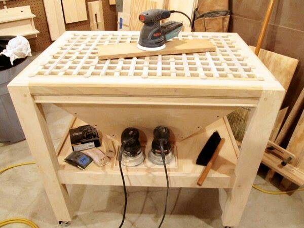 Downdraft table, not sure how necessary or effective but ...