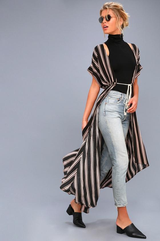Explorez Haut Kimono, Imprimé À Rayures et plus encore !