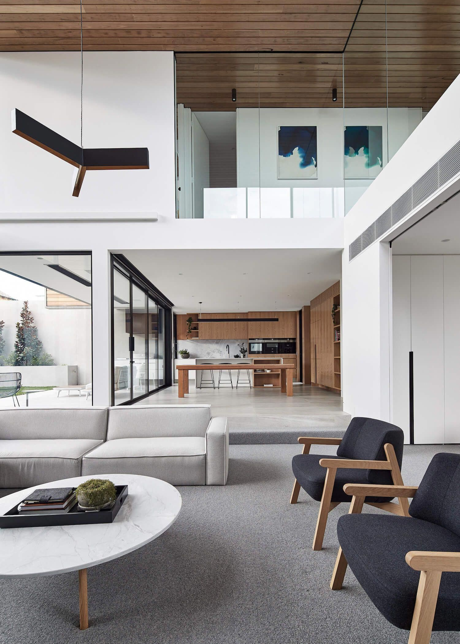 Bloomfield home by fgr architects est living interiordesign also rh pinterest