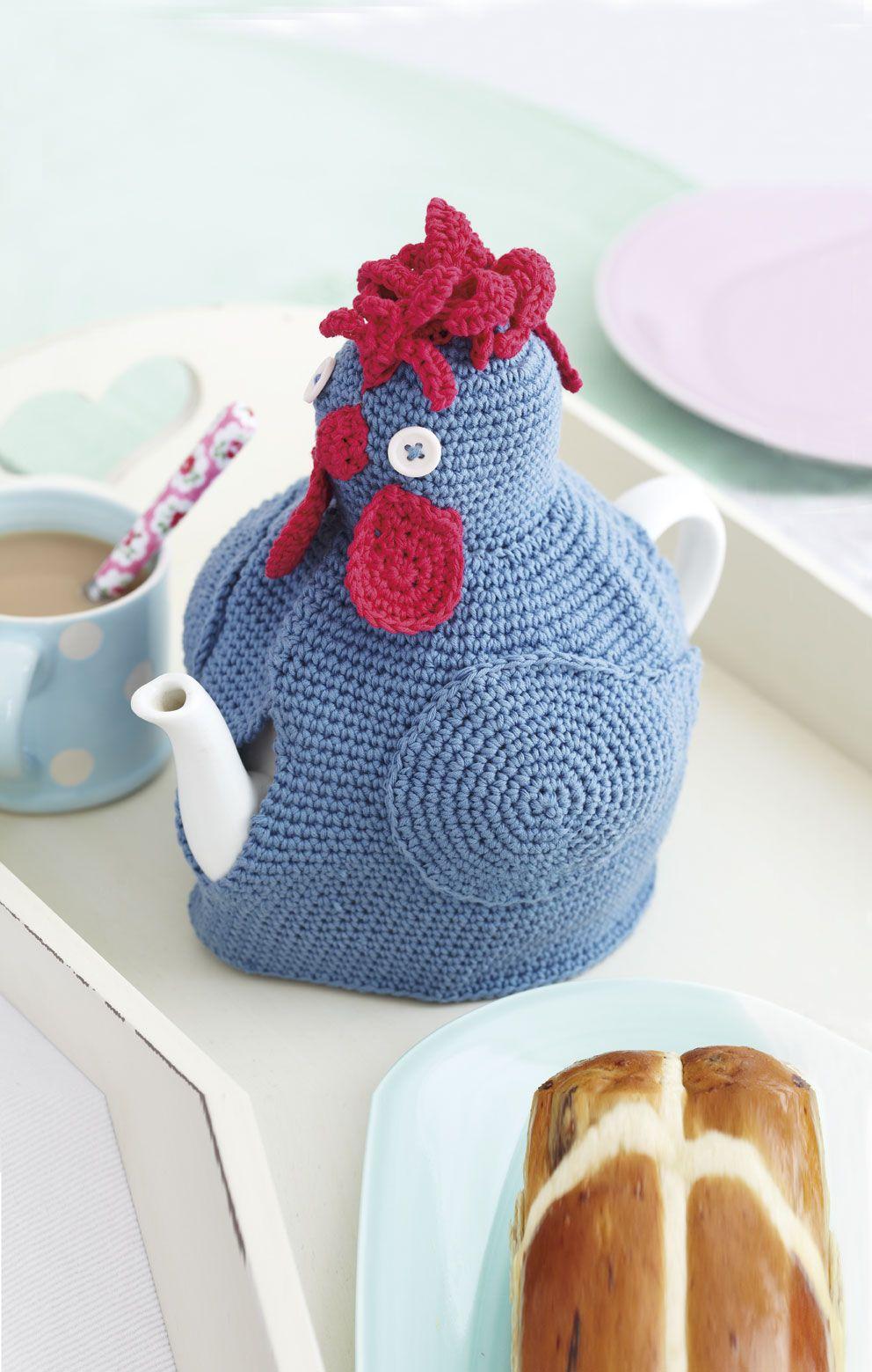 Crochet this hen cosy to make teatime a stylish affair   El işleri ...