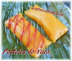 Pasteles de Yuca