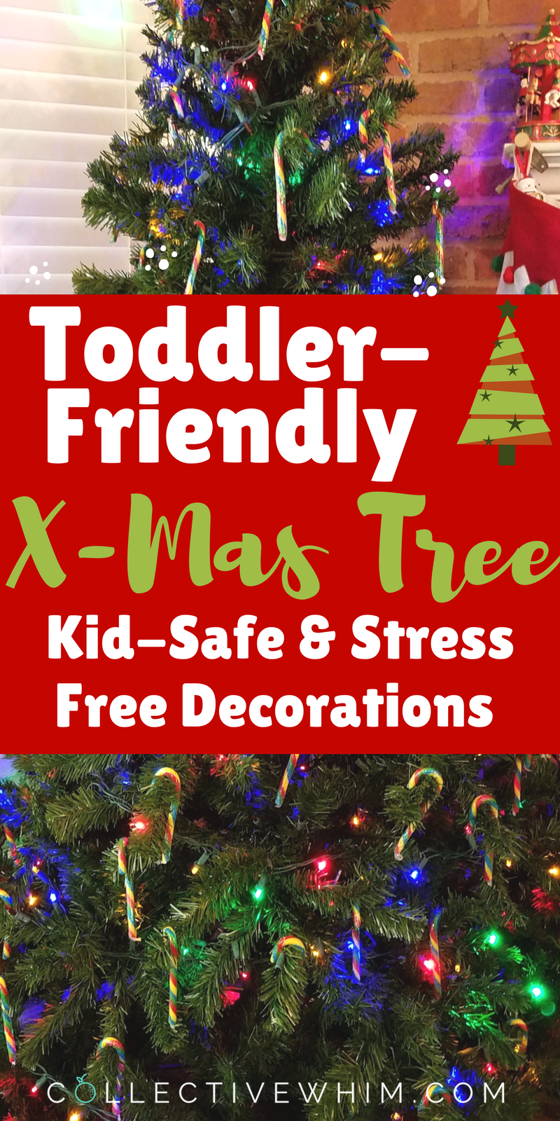 7 Ways To Toddler Proof Your Christmas Tree Hand Christmas Tree Christmas Tree Gate Toddler Christmas Tree