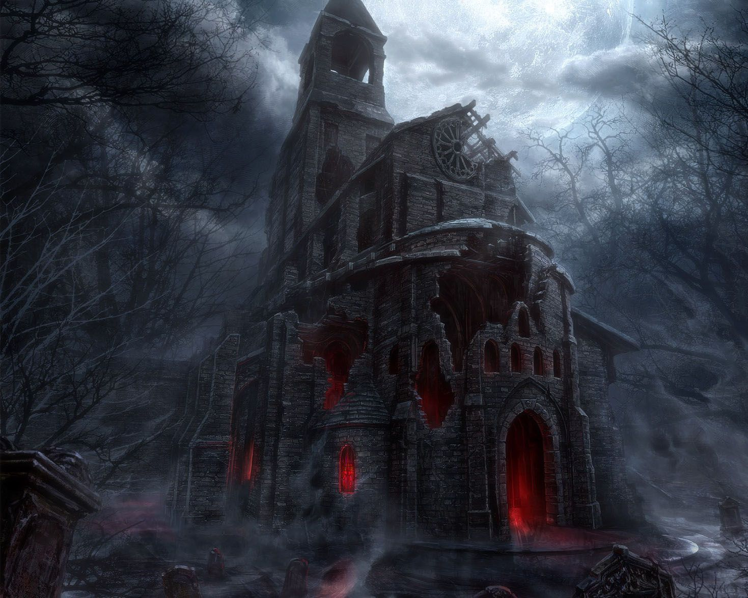 castle inside background | Horror Wallpapers HD Photos| HD ...