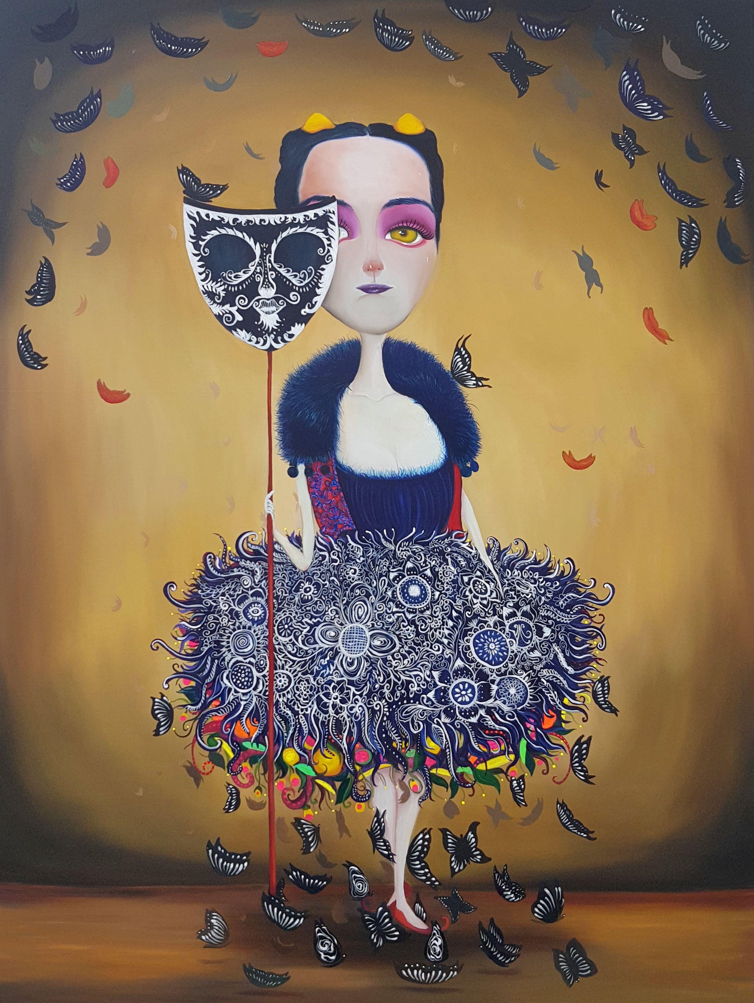 Dama Killa   Joan Alfaro - Artista Plástico Peruano