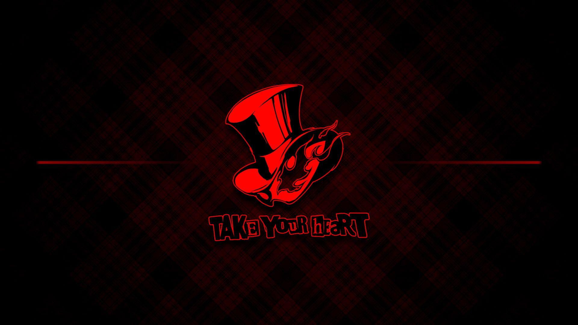 Persona 5 Red Abstract 1080p Wallpaper Hdwallpaper Desktop Persona 5 Persona 5 Joker Persona