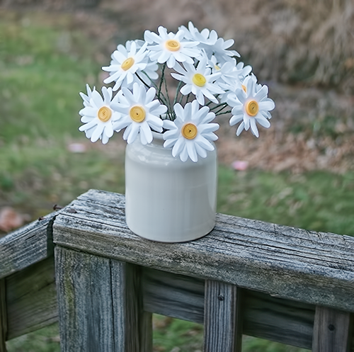 How To Make Paper Daisies Savedbyloves Flowers Handmade