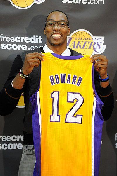 Howard Blockbuster Trade To Lakers Finalized Dwight Howard Nike Inspiration Nike Air Max 2012