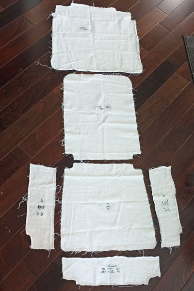 DIY Dining Chair Slipcovers from a Tablecloth  kursi