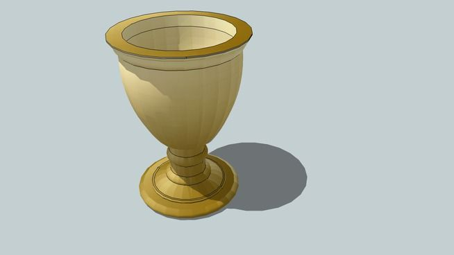 Vaso Golden - 3D Warehouse