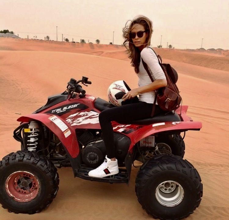 Quad Bike Dubai Desert Quad Bike Atv Riding Joan Smalls