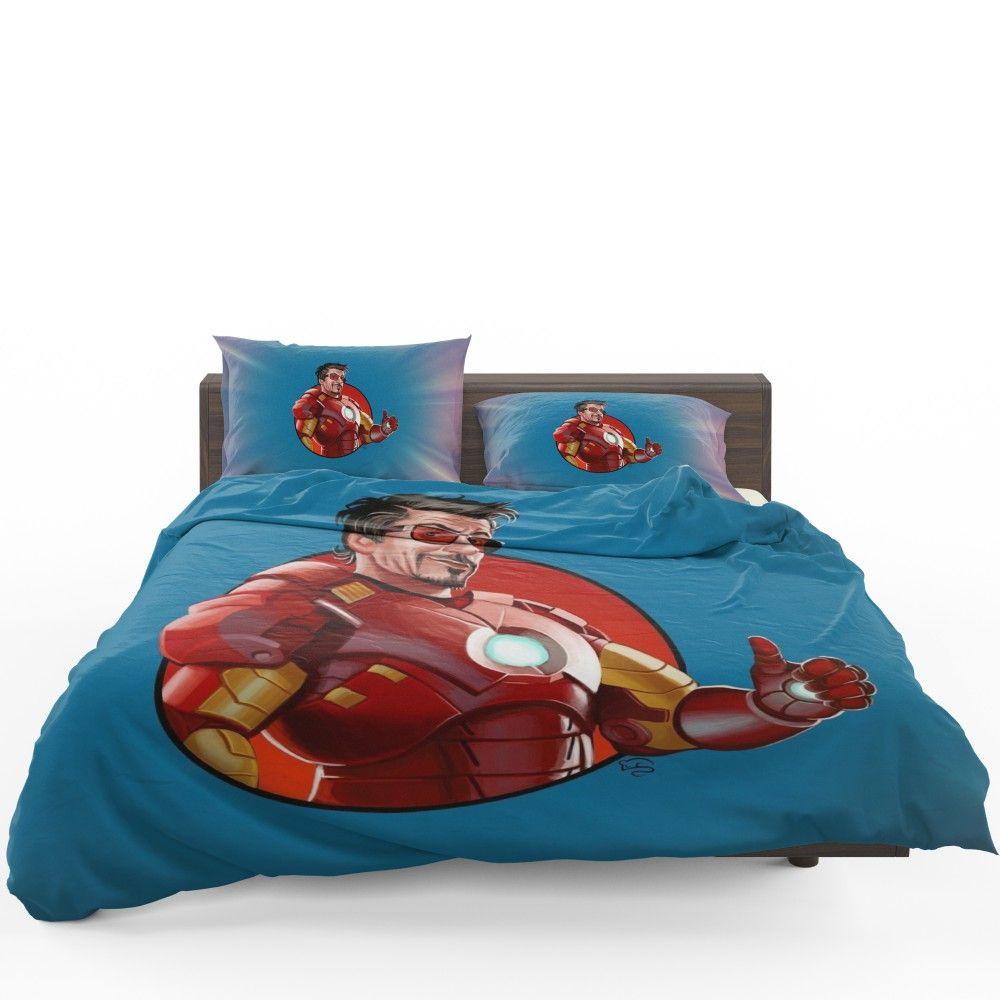 Tony Stark Iron Man Comforter Set Superhero Bedding Comforter Sets Brooklyn Bedding