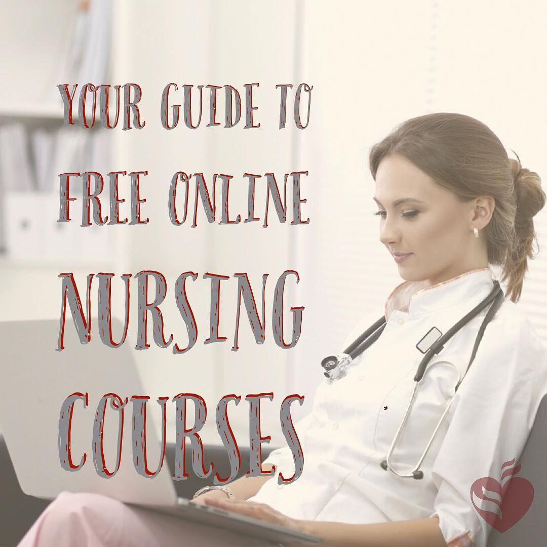 Free Online Nursing Courses With Certificates Are