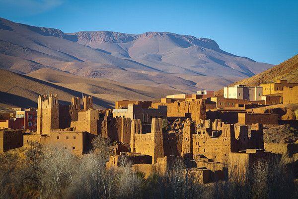 Ait-Arbi Kasbah, Dades Valley, Atlas Mountains #18978454