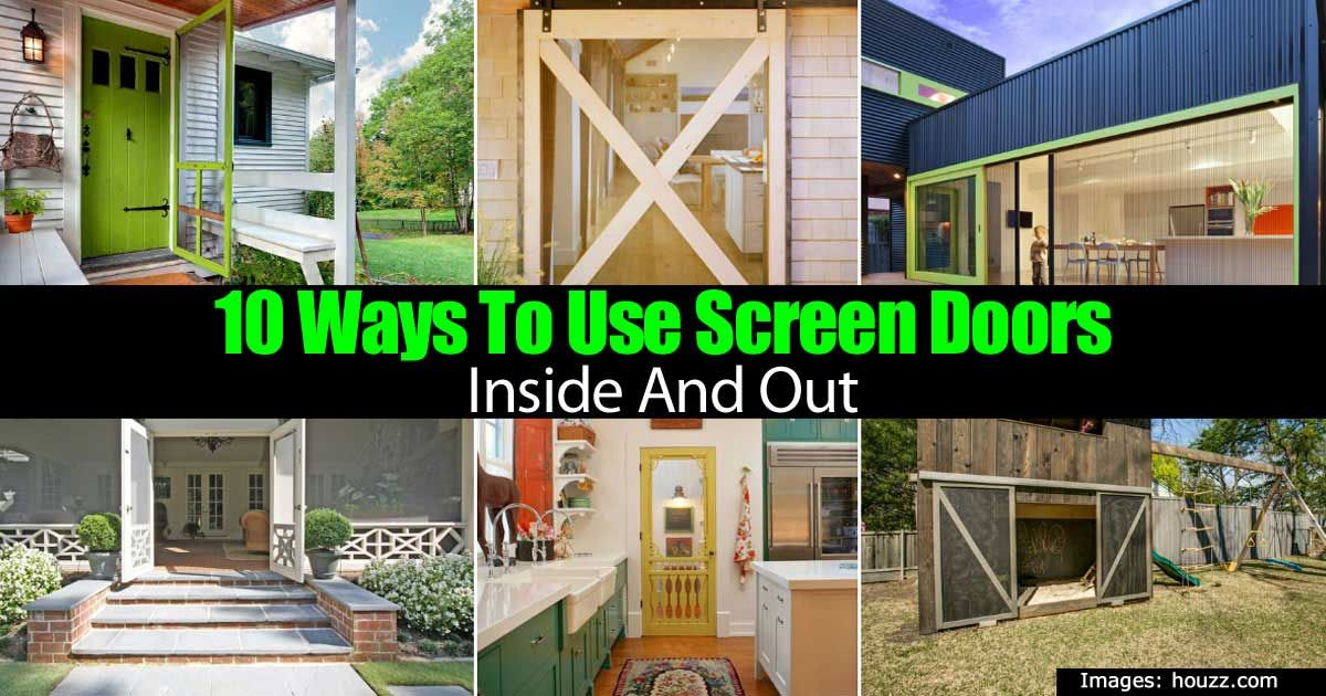Nothing Beats Having A Good Old Fashioned Screen Door In Your House! Its  Great To