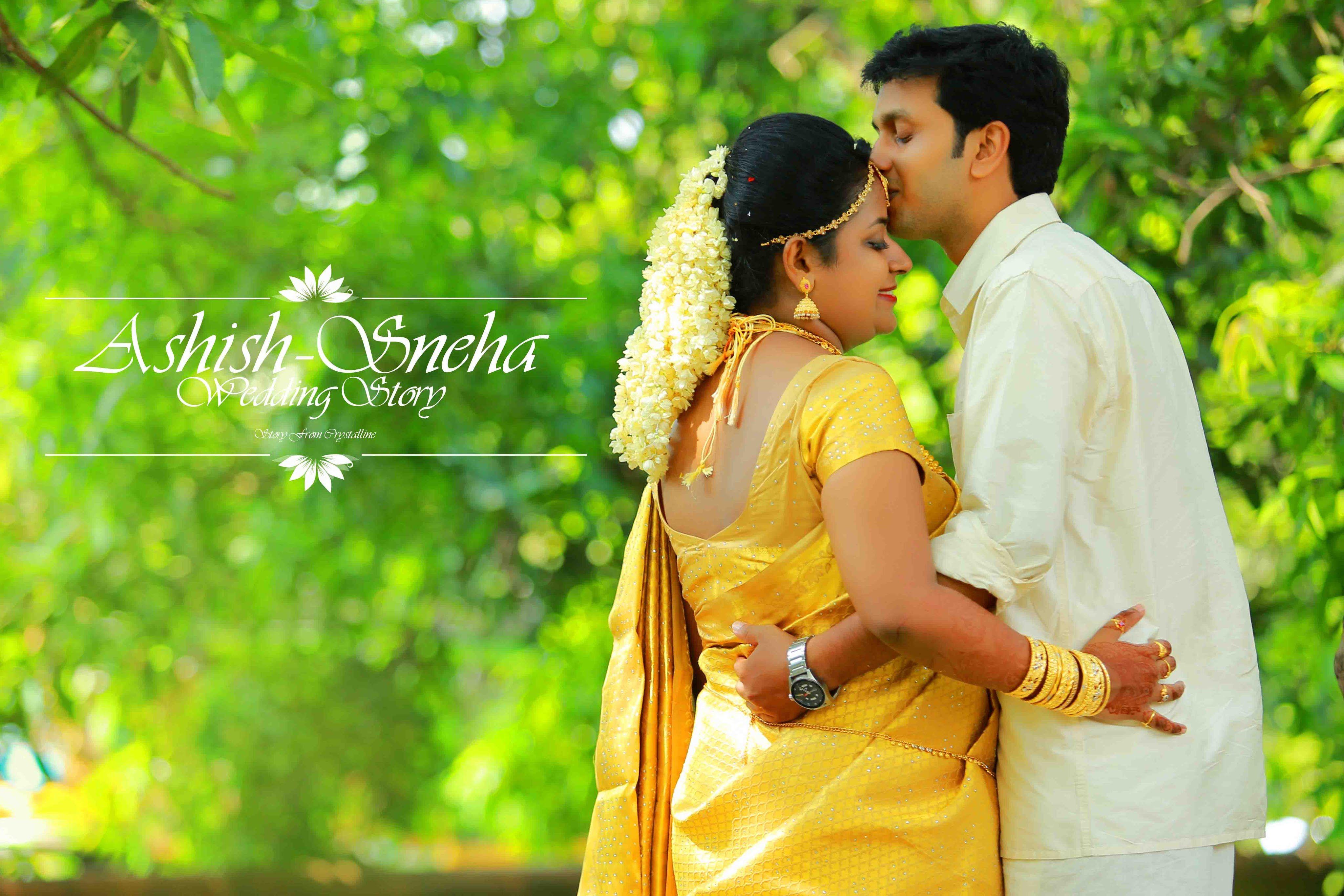Kerala wedding photography - Photography Kerala Hindu Wedding Highlight Ashish Sneha Crystalline Studio