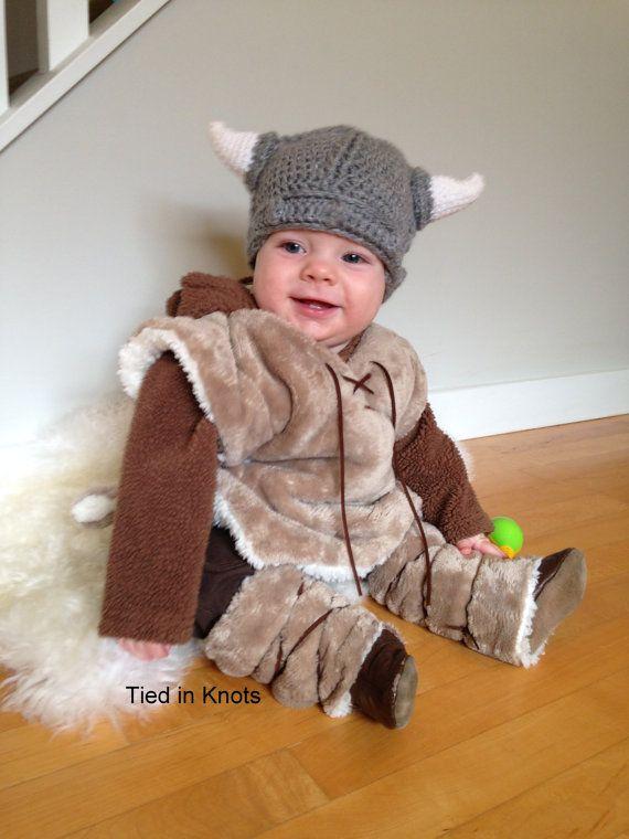Wikinger Hut mit Bart - Baby Viking Hat mit abnehmbaren Bart - Bart ...