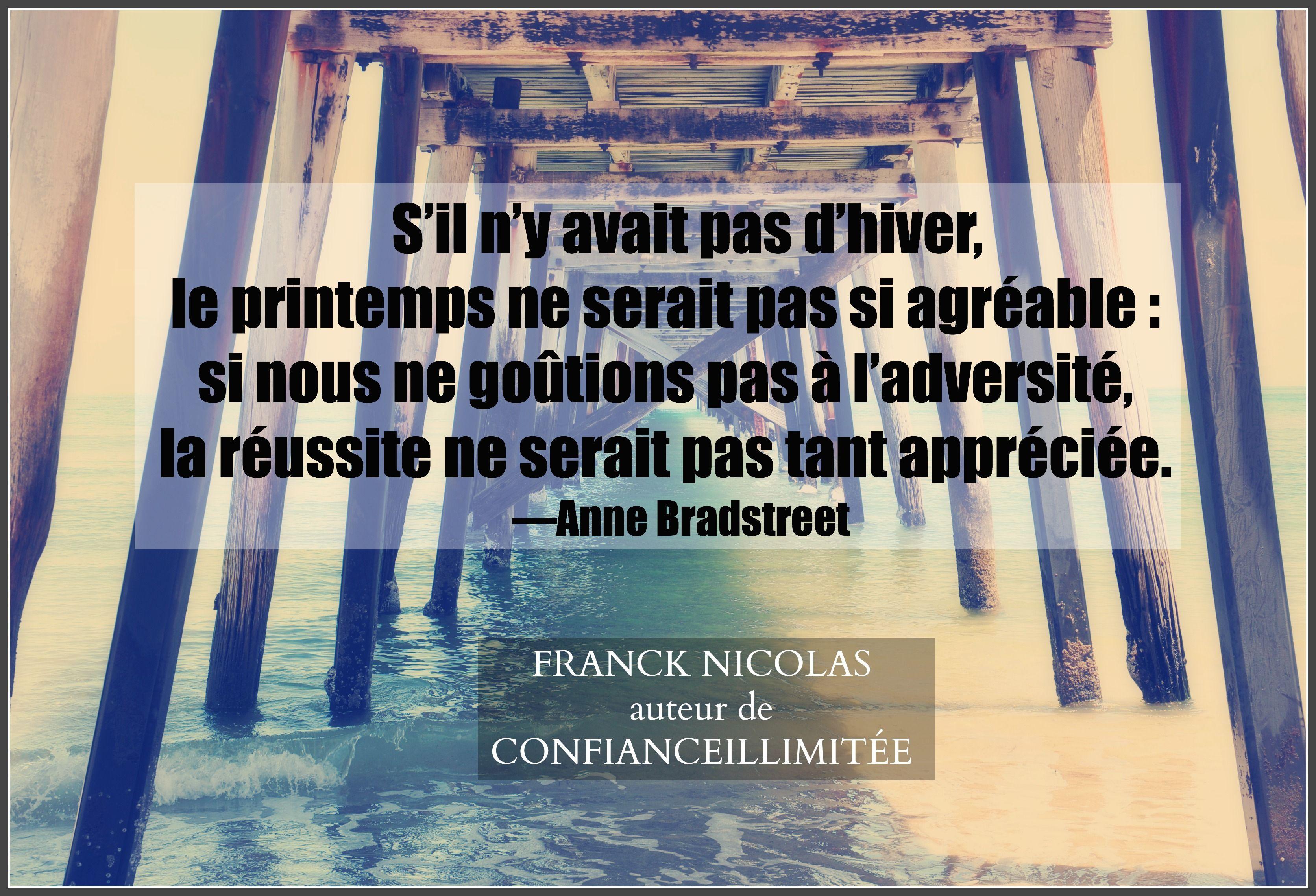 Apprécier La Réussite Inspiration Franck Nicolas