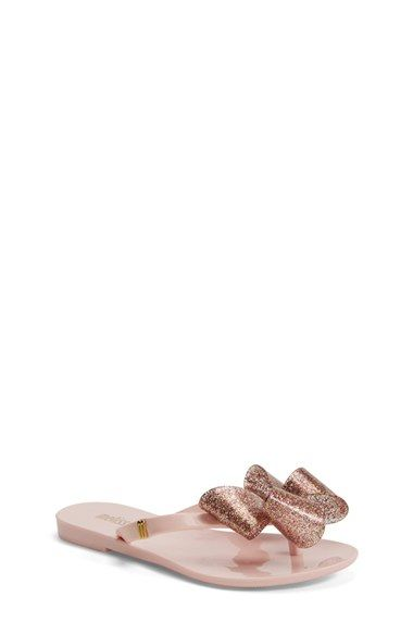 9faf6bad7da Mini Melissa  Harmonic Bow  Jelly Thong Sandal (Toddler   Little Kid)  available at  Nordstrom