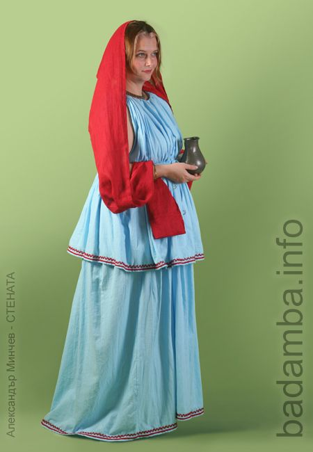 Thracian lady in blue