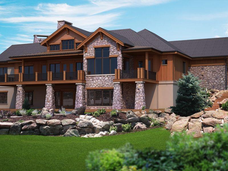 Rabenburg Rustic Home Basement House Plans Ranch House Plans Mountain House Plans