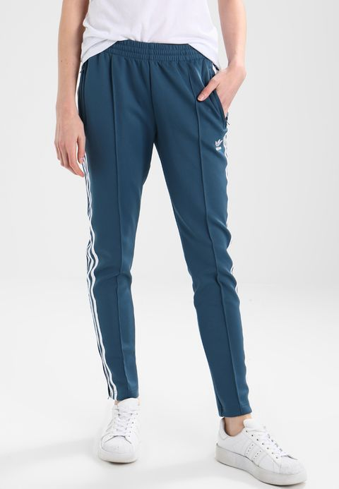 adidas Originals ADICOLOR - Tracksuit bottoms - dark steel ...