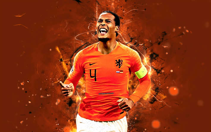 Download Wallpapers Virgil Van Dijk Goal Netherlands National Team Joy Fan Art Van Dijk Soccer Footballers Dutch Football Team Neon Lights Besthqwallpa Virgil Van Dijk Football Wallpaper Football