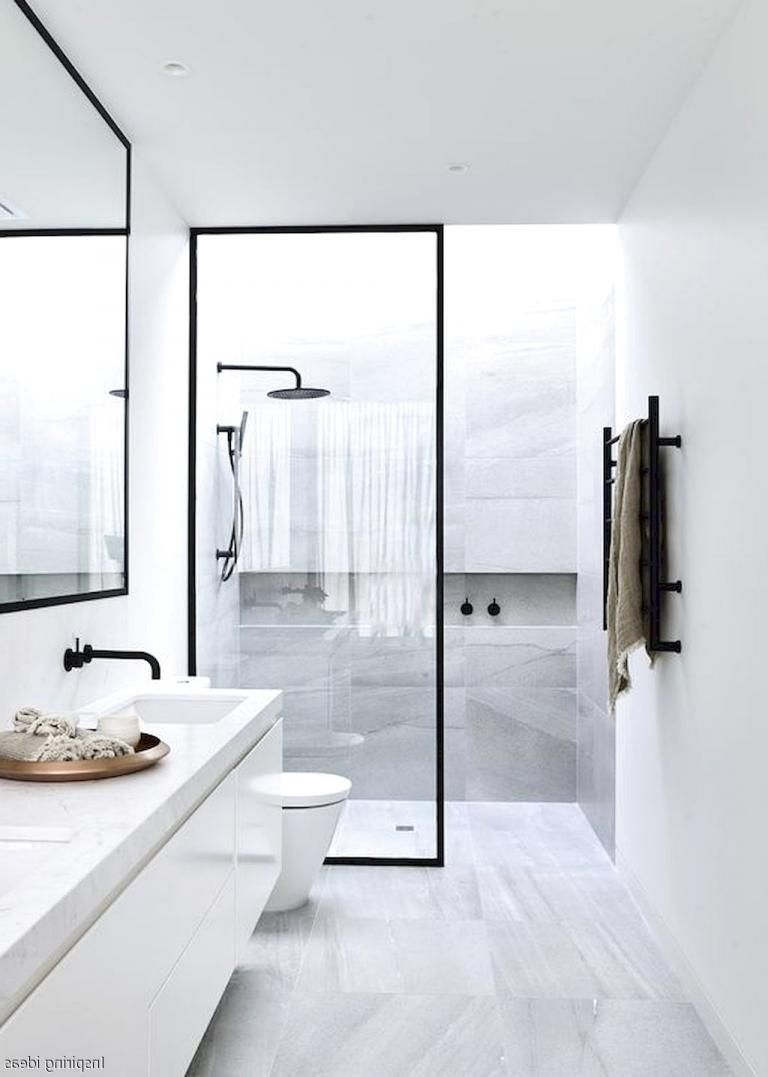 Awesome Bathroom Curbless Shower Decor Ideas | besthomestyle ...
