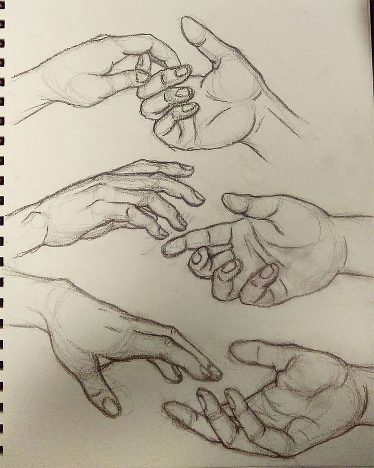 Photo of 100+ Drawings Of Hands: Quick Sketches & Hand Studies