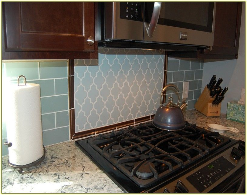 Your Home Improvements Refference Glass Subway Tile Backsplash Clear