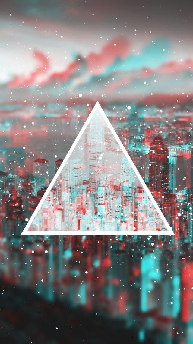 Download Wallpaper 640x1136 Triangle, Light, Blurred iPhone 5S, 5C, 5 HD Background | iphone ...
