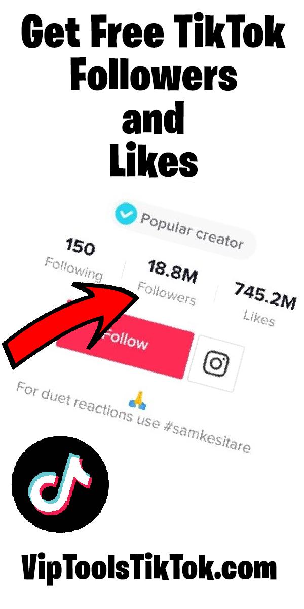 Gagner Des Likes Tiktok Gratuit Comment Gagner Des Abonne Sur Tiktok Gratuitement How To Get Followers How To Get Famous Free Followers