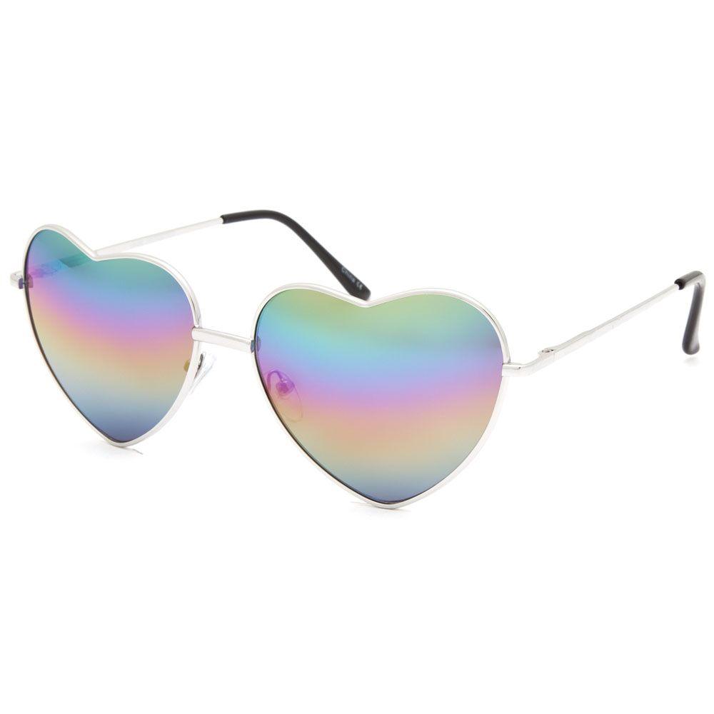 feef0b80edd6 FULL TILT Rainbow Heart Aviator Sunglass EUR 10.00 | Gift ideas for ...