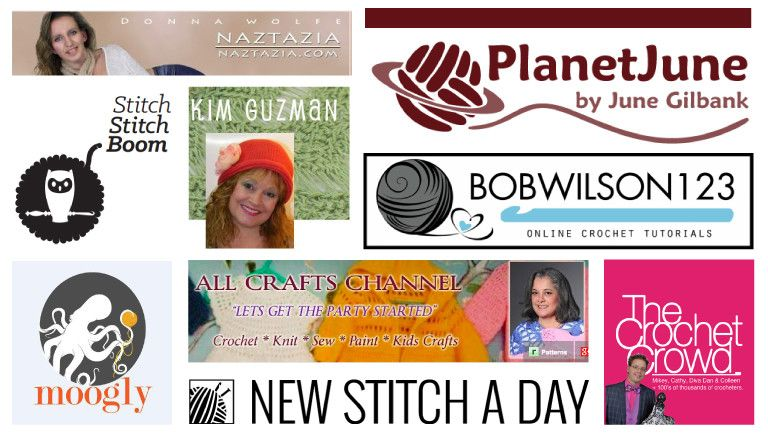 Vote for the Best Crochet YouTube Channel! Planet June - www
