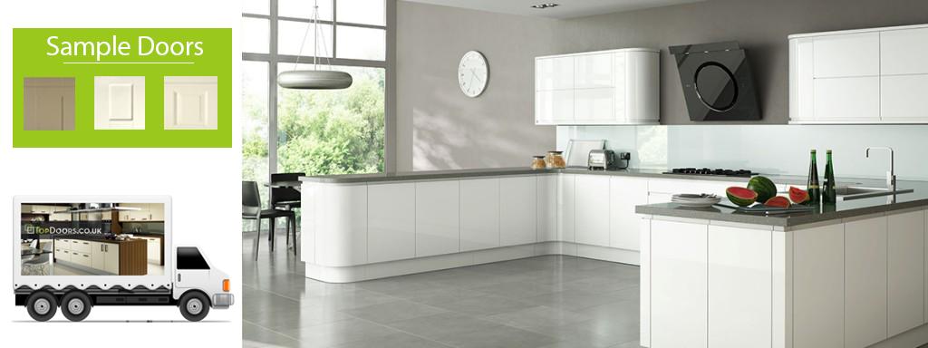 Best Handleless Kitchen Doors Kitchen Cabinets Cupboards 400 x 300