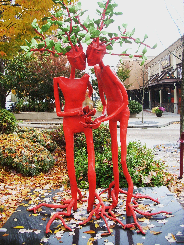 Sculpture Lloyd Center Portland Portland Oregon Portland City Portland Travel