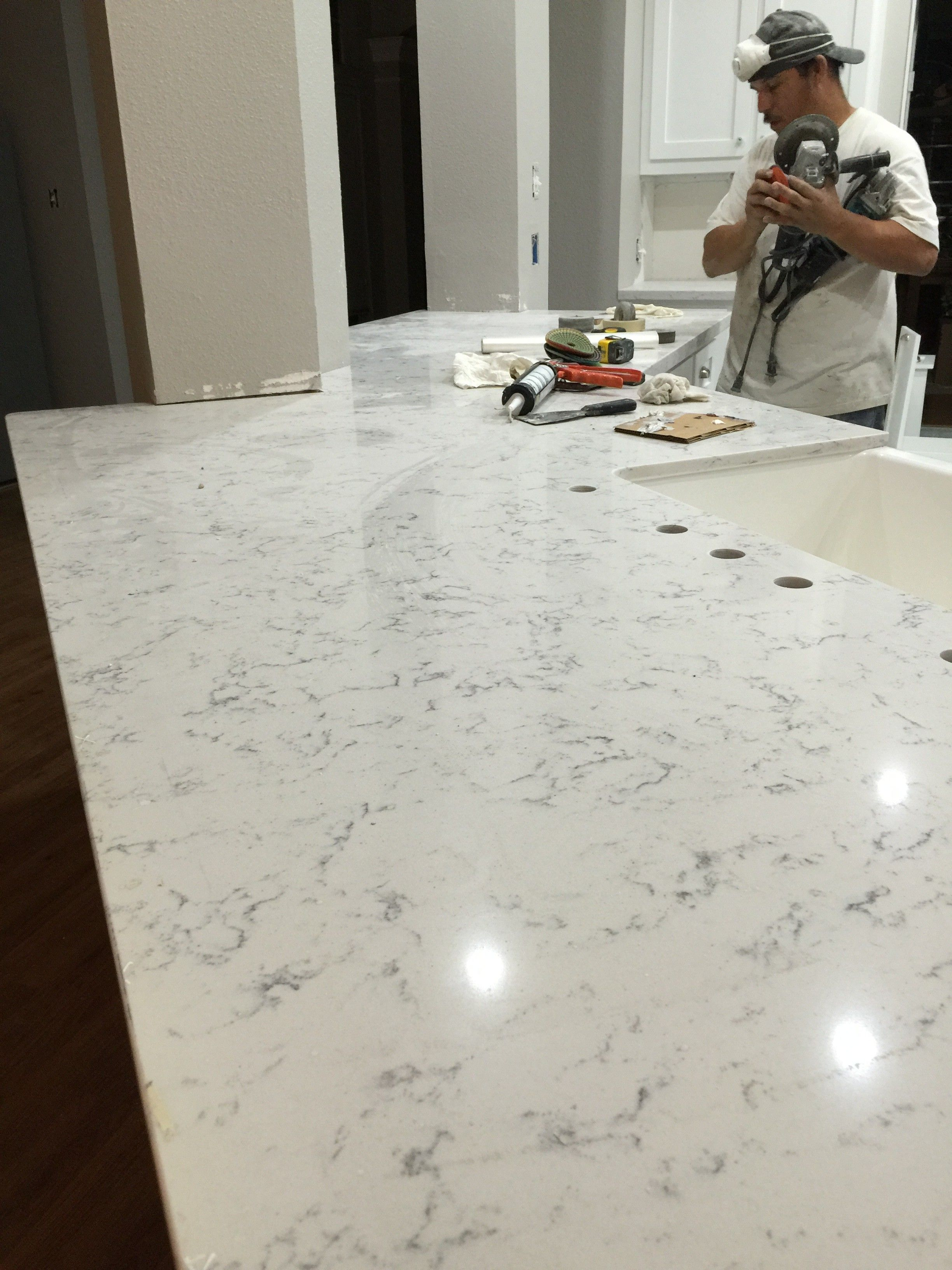 Helix Quartz Silestone Kitchen Countertop