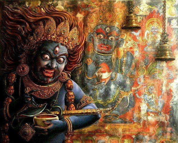 День Защитника!)) в 2020 г. | Индийское искусство, Буддийское искусство и  Тибетское искусство