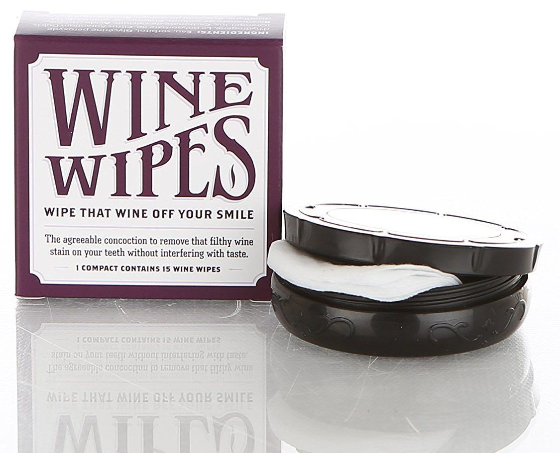 Christmas Gifts For Wife 2018: Wine Wipes | xmas ideas | Pinterest
