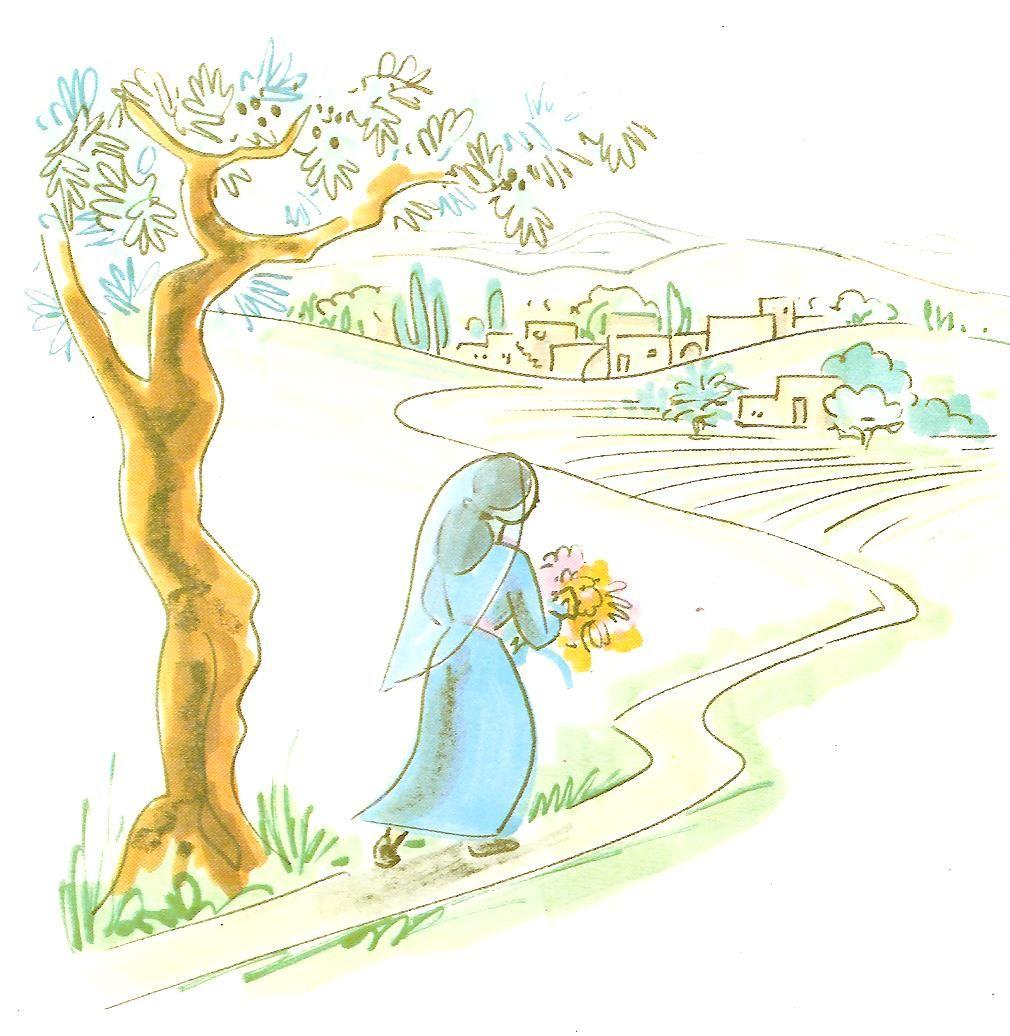 maria bezoekt haar nicht elisabeth blz9