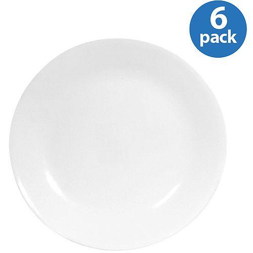 Corelle Livingware Winter Frost White 10.25  Dinner Plate  sc 1 st  Pinterest & Corelle Livingware Winter Frost White 10.25