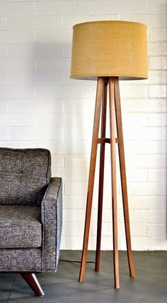 Take a look at this modern floor lamp for your living room | www.modernfloorlamps.net #uniquelamps #modernfloorlamps #lightingdesign