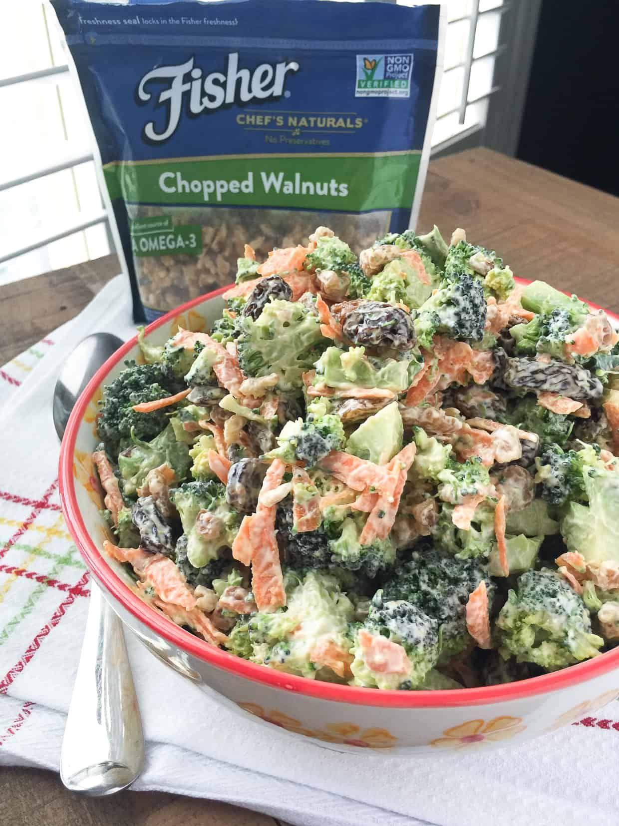 Broccoli Raisin Salad Recipe Easy