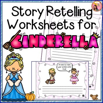 image about Cinderella Story Printable known as Cinderella - Tale Retelling Worksheets Education