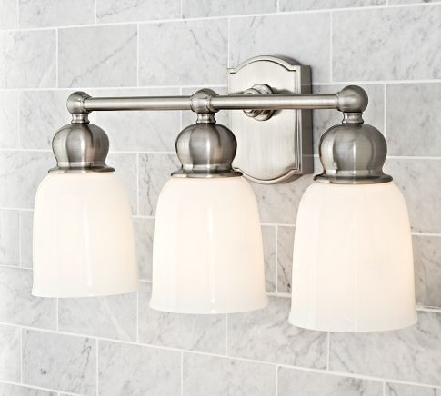 covington hotel triple sconce pottery barn for the home