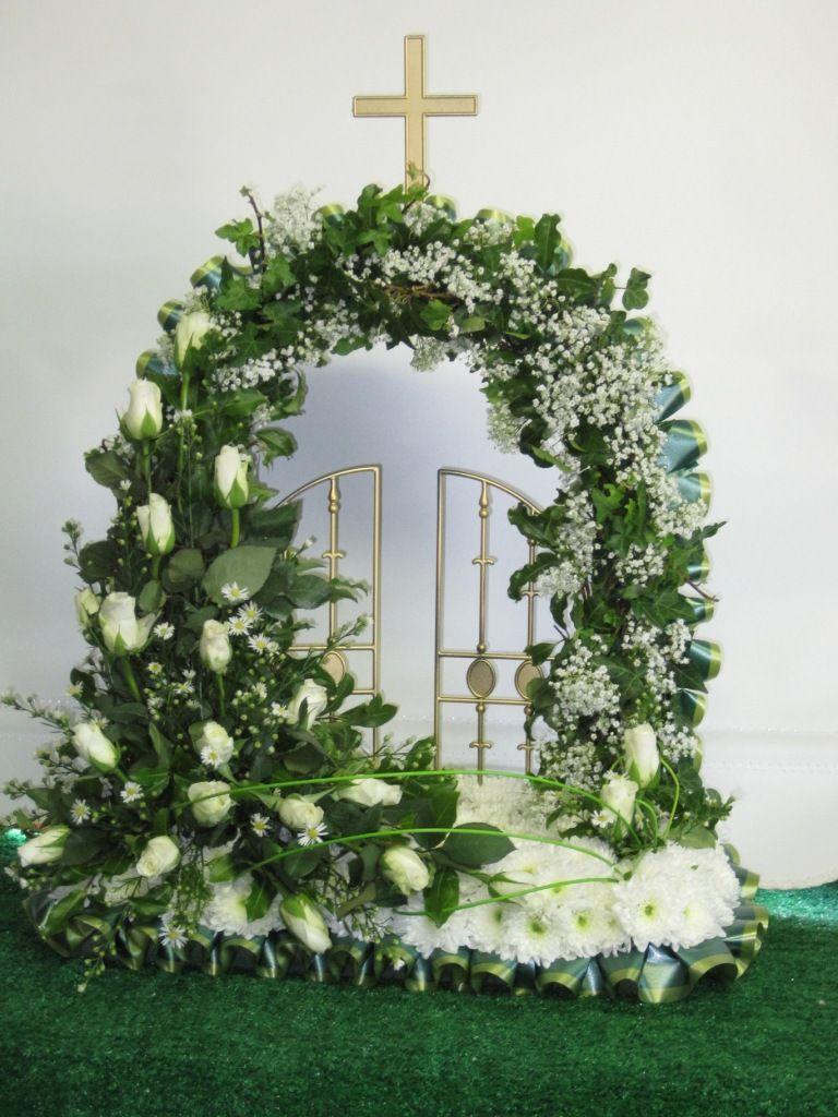 Gates of Heaven Funeral flower arrangements, Funeral