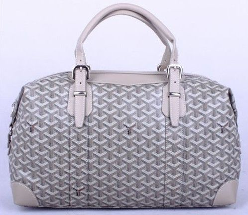 Amazing Goyard Travelling Bags 8758 Grey Cheap  f0bba4a998357