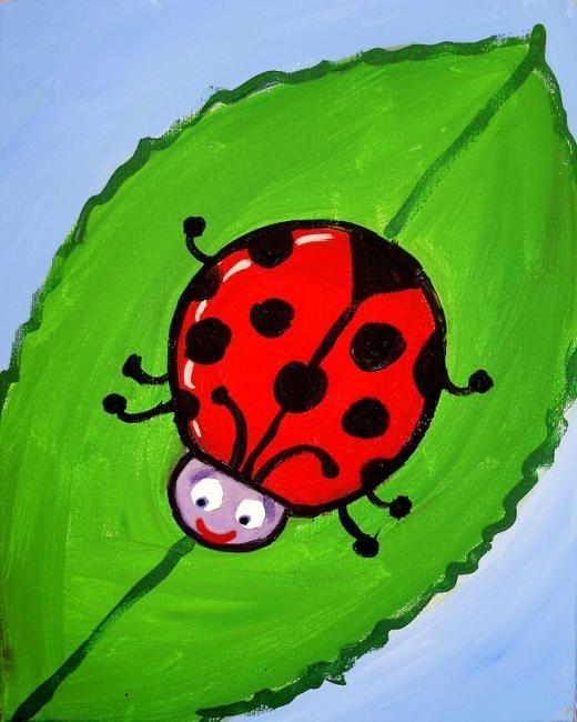 Ladybug drawings for kids - photo#49