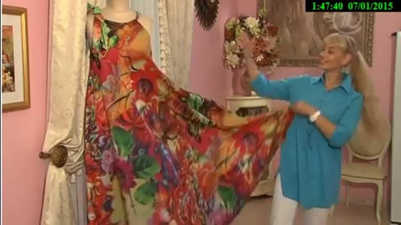 0ee51b2effb Как сшить платье в пол. Ольга Никишичева. | Шить легко и быстро с ...