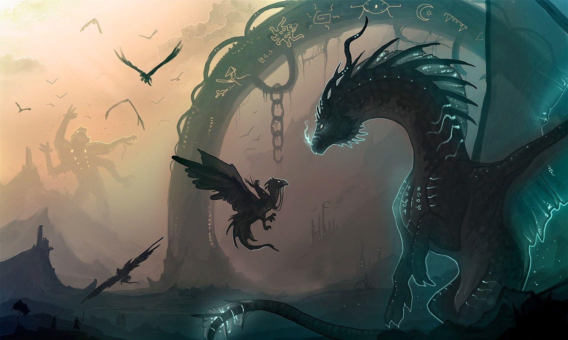 Epic Dragon Wallpaper Dump Album On Imgur Dragon Art Monster Artwork Anime Wallpaper