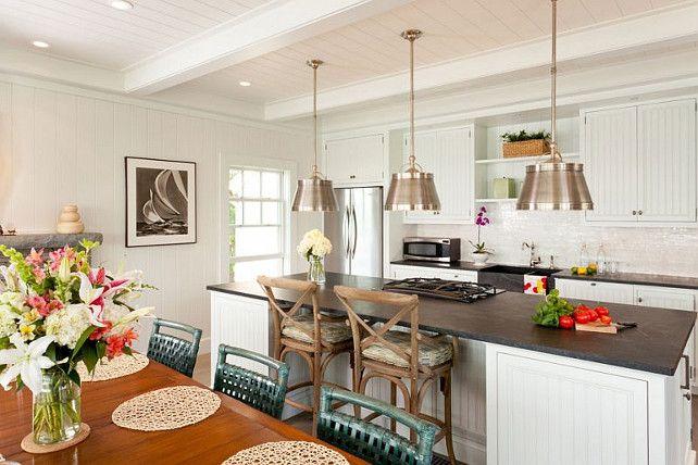 Coastal Kitchen Design Ideas This Coastal Is Beautifully Designed